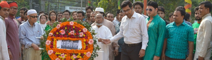 Homage to martyrs on 26th March 2015